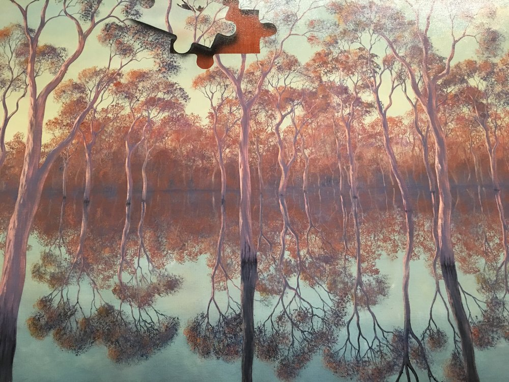 Barmah Forest -   by Lin Onus