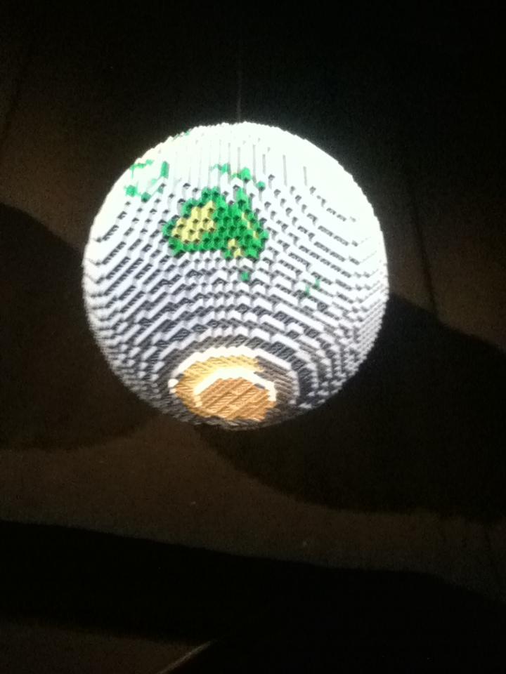 "World, ""Art of the Brick"" Lego Exhibition, Faneuil Hall, Boston, Mass., 2014.  (Photo: Stephen Burns.)"