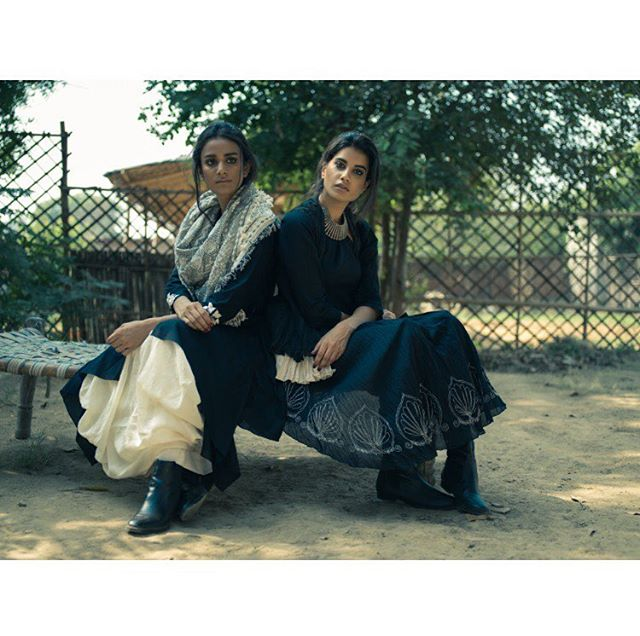 Malgudi aw2016. Reinterpreting archives. #Aikeyah #cottons #cottonlove #loveforcottons #cottonsforallseason #black #monochromes #layered #clothing photo by @manavparhawk shot on @__aaishwarya @heenabhalla