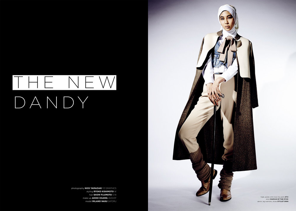 """THE NEW DANDY""  PHOTOGRAPHER /Nick Yamazaki  view story"