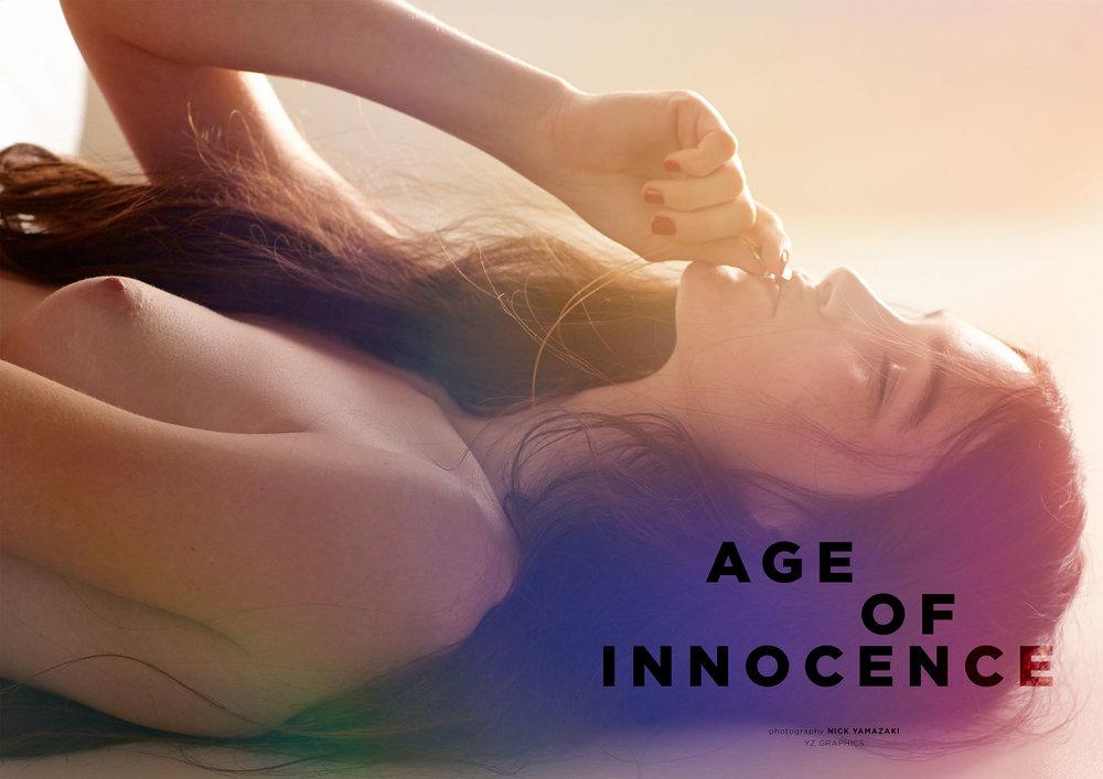 """AGE OF INNOCENCE"" PHOTOGARPHER : Nick Yamazaki    view story"