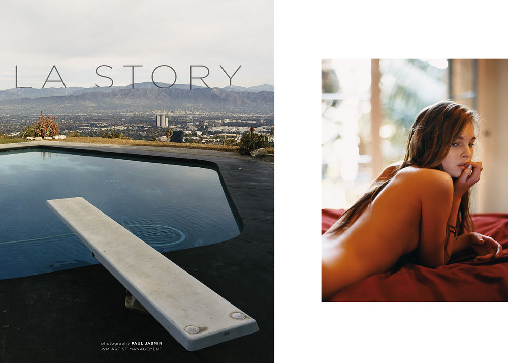 """LA STORY""   PHOTOGRAPHER / Paul Jasmin  view story"