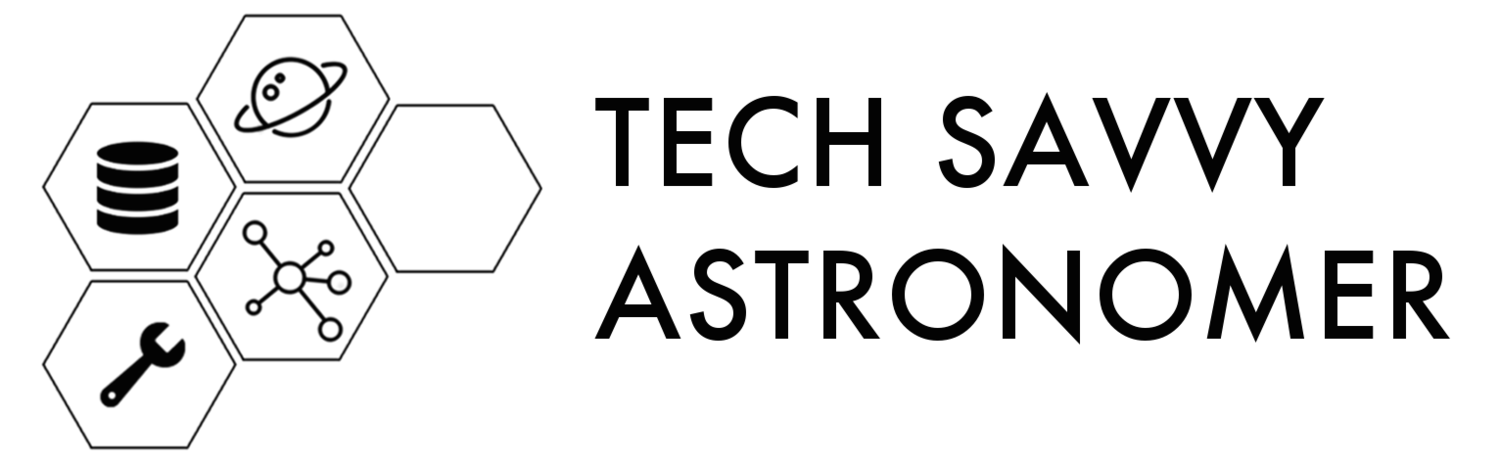 tech savvy astronomer