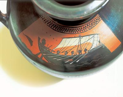 Greek vase [Inv.nr. 619/836]
