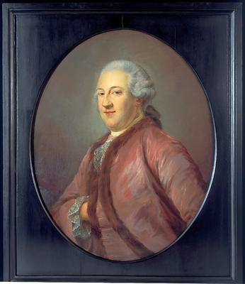 Jean Baptist Perroneau, Portrait of Gerard Meerman , 1761 [Inv.nr. 1/27]