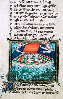 Jacob van Maerlant, Rijmbijbel , 1271/1332 [10 B 21, 8r]