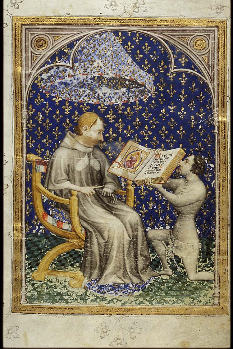 Petrus Comestor,Bible historiale complétée, 1371-1372 [10 B 23, 2r]