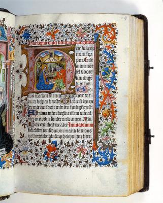 Master of Catharine of Cleves, 'Book of Hours', around 1460 [10 F 50, 14r]