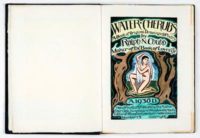 Ralph Chubb,Water Cherubs, 1936 [Chubb 47, [1r.]]
