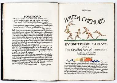 Ralph Chubb,Water Cherubs, 1936 [Chubb 47, [2v.-3r.]]