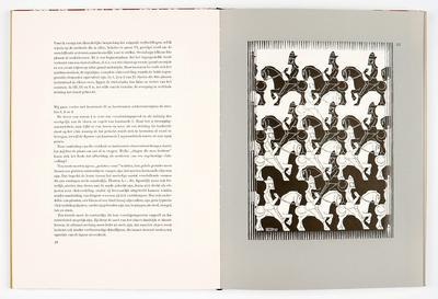 M.C. Escher,Regelmatige vlakverdeling, 1958 [B 1 B 8, 26]