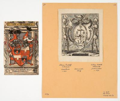 Ex libris collection of Jansen-Ebing