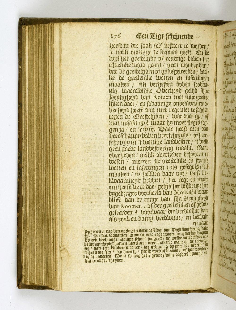 Koerbagh, 'Een ligt schijnende in Duystere Plaatsen', 1668.[7 D 1, 176]