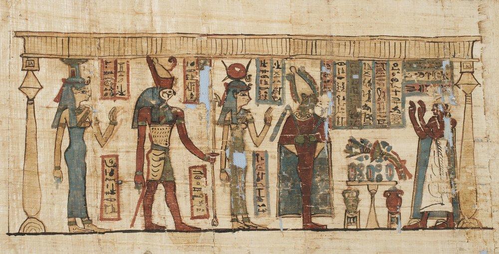 Papyrus Denon [Inv.nr. 42/88]