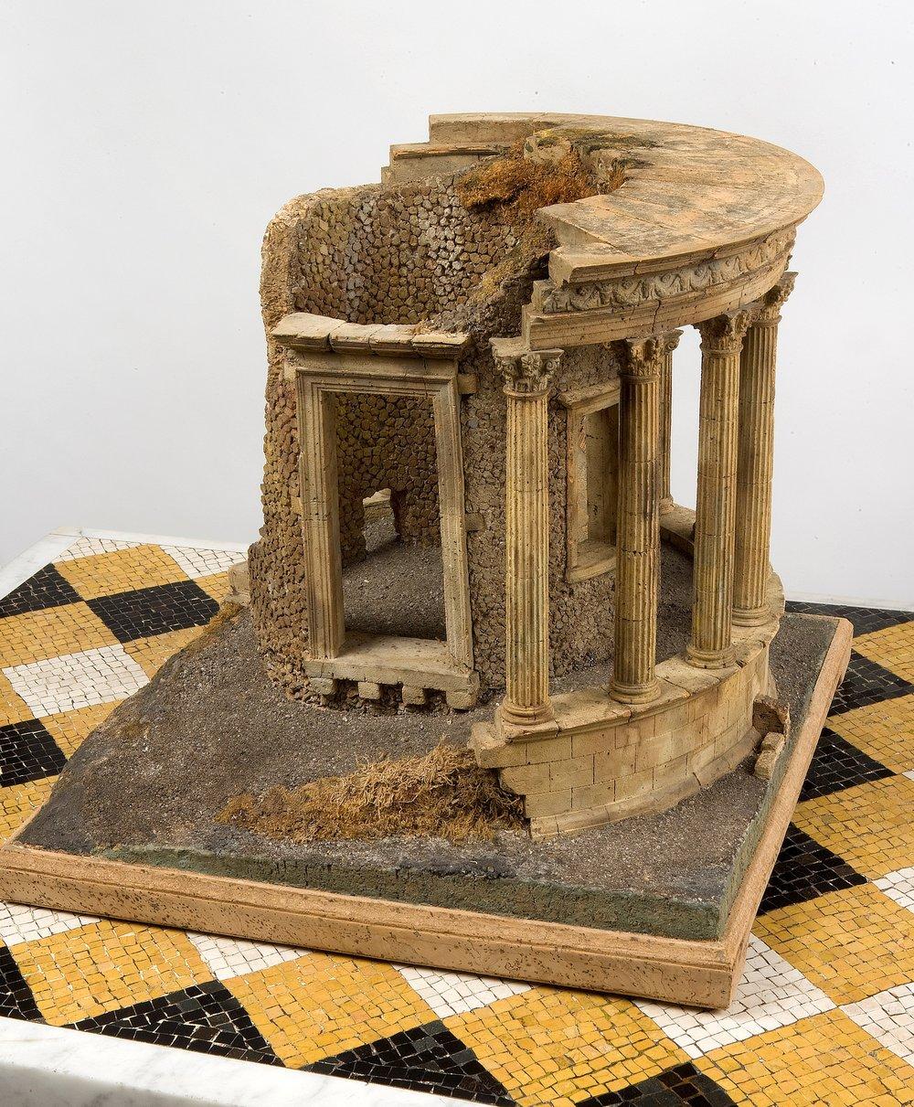 Cork model of the Temple of Vesta [Inv.nr. 1220/U]