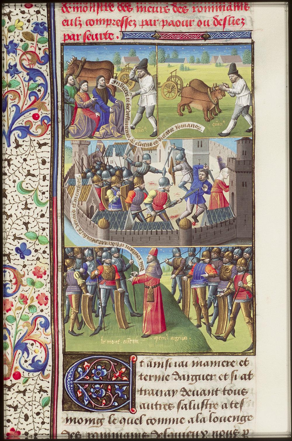 Augustine,  La Cité de Dieu [10 A 11, 65v]