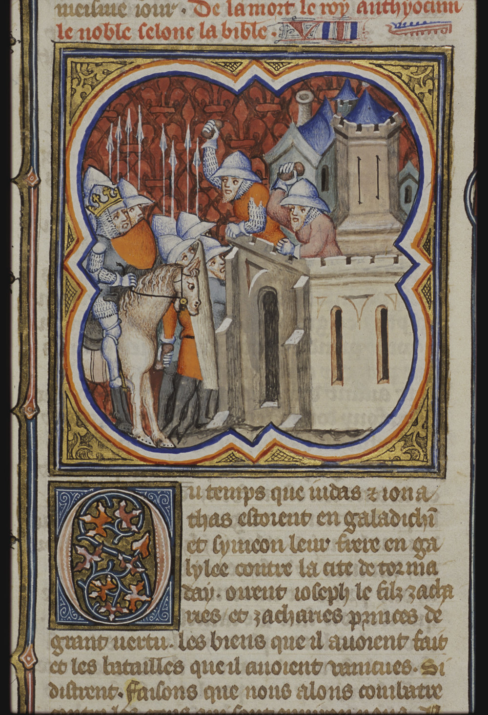 Petrus Comestor, Bible historiale complétée , 1371-1372 [10 B 23, 447r]