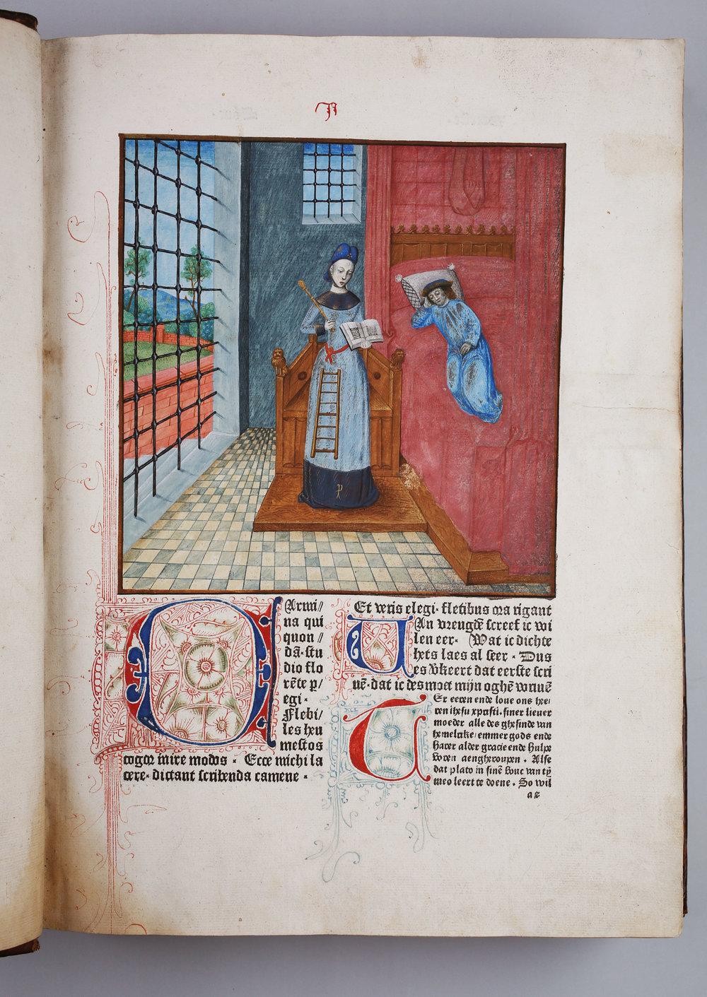 Boethius, 'De consolatione philosophiae'[1 A 2, A4r]