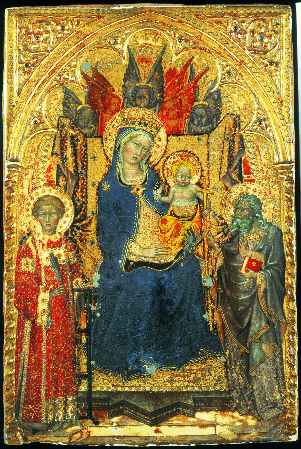 Francesco di Vanuccio,  Madonna with Child , around 1380 [Inv.nr. 806/60]
