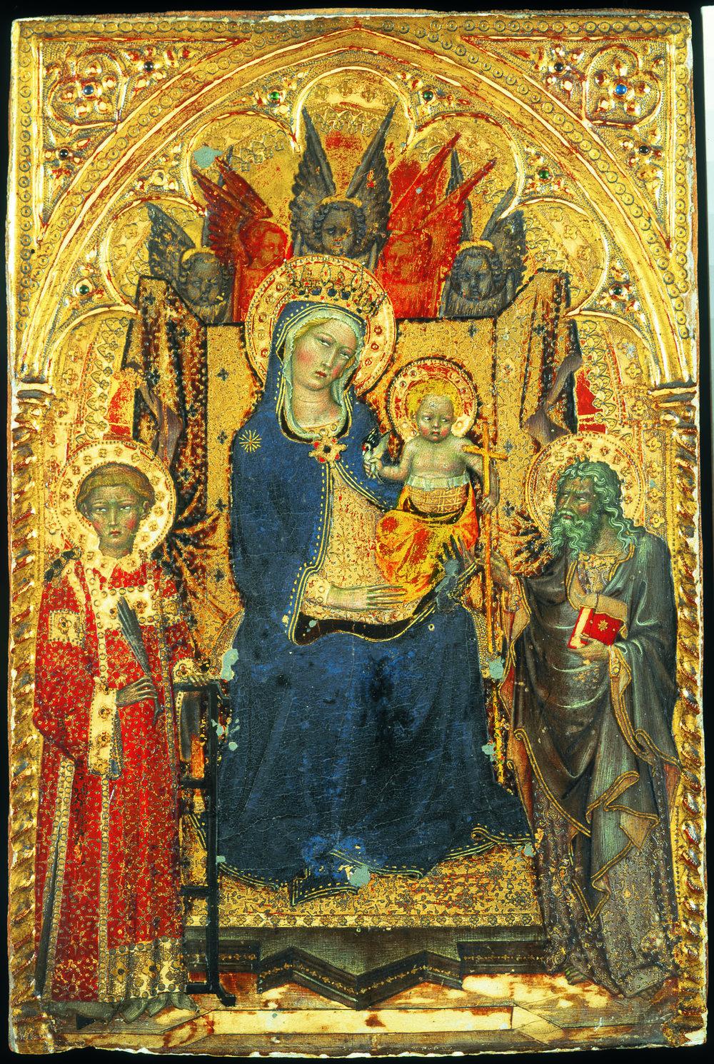 Francesco di Vanuccio, Madonna met kind , omstreeks 1380 [Inv.nr. 806/60]