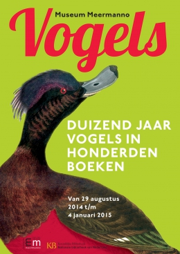 Vogels 29 AUG 2014 - 4 JAN 2015