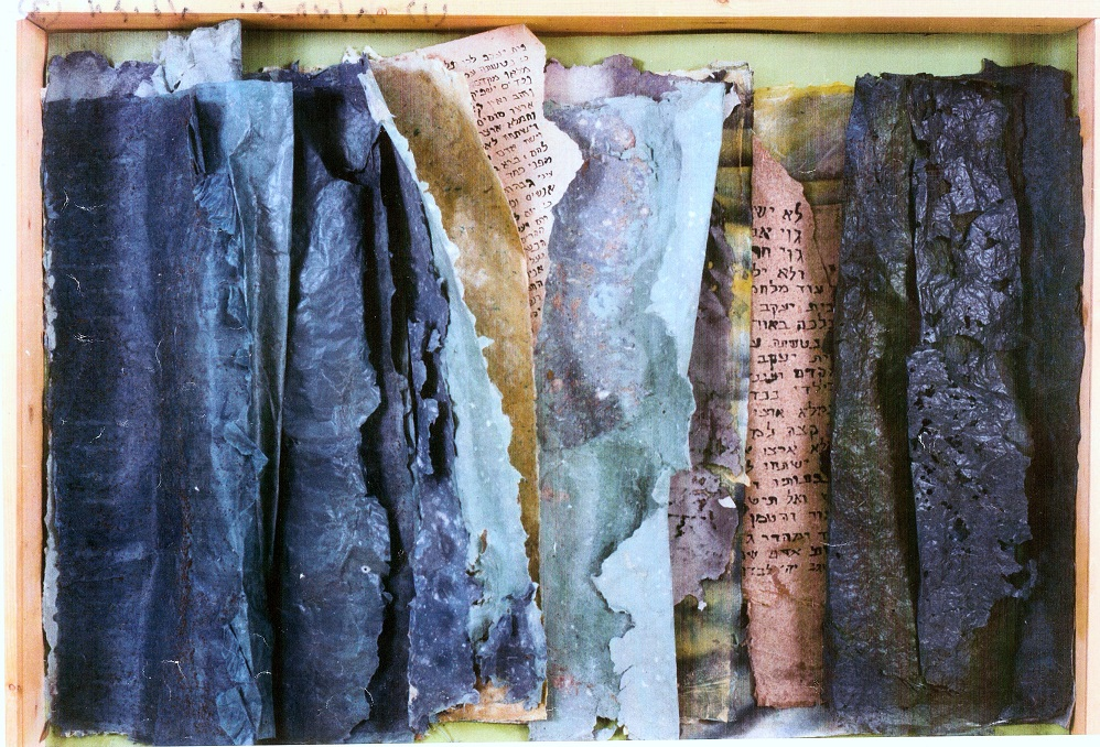 Laura Behar,  Dead sea scroll , 1990.