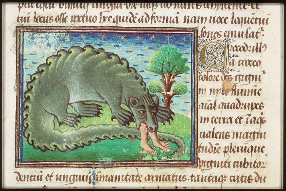 Bestiarius (handschrift, ca. 1450)