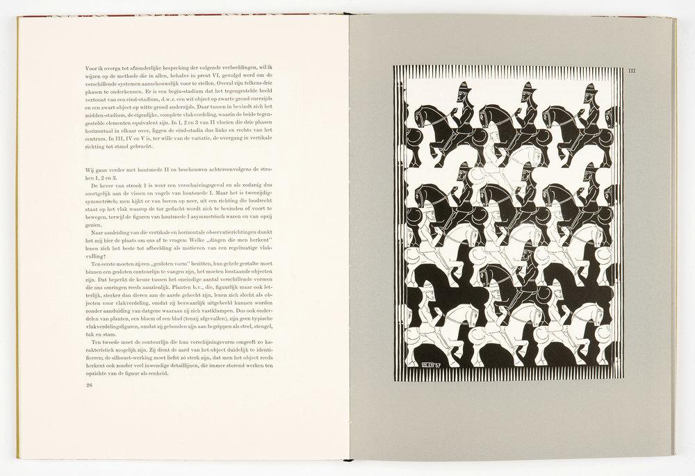M.C. Escher Regelmatige vlakverdeling (1958)