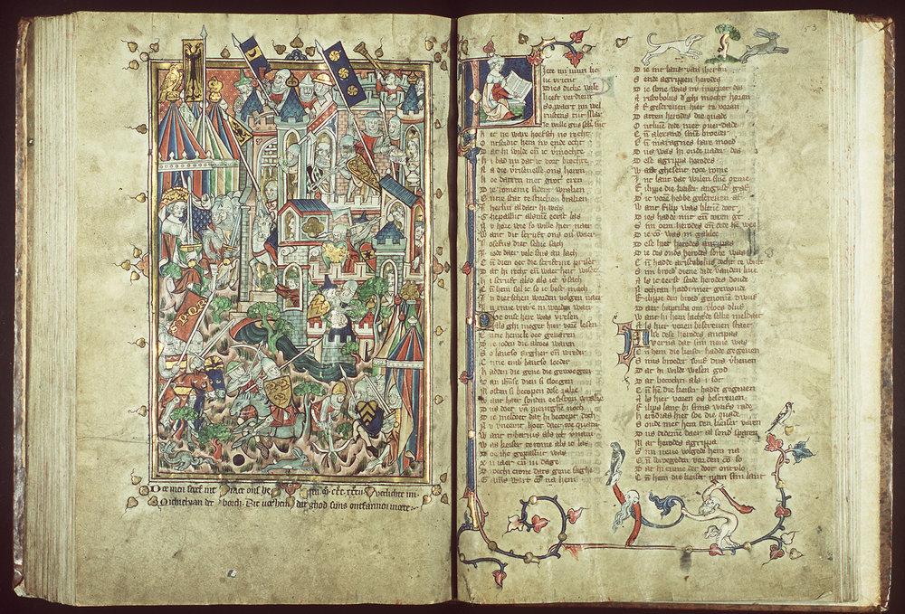 Jacob van Maerlant Rijmbijbel (handschrift, 1332)