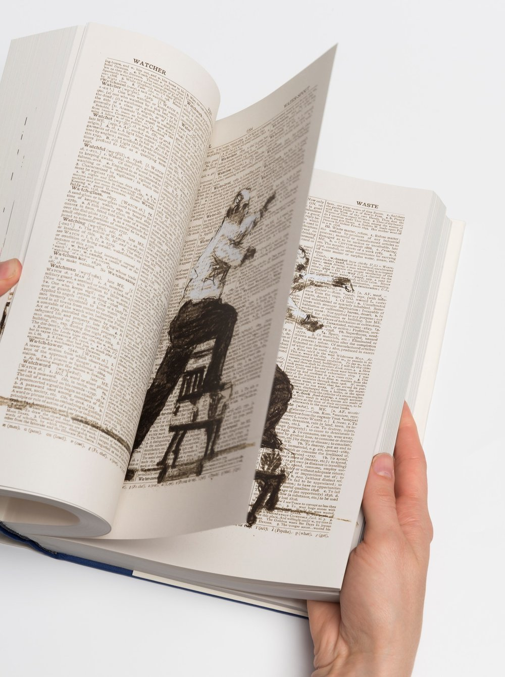 Photo: 2nd hand reading William Kentridge