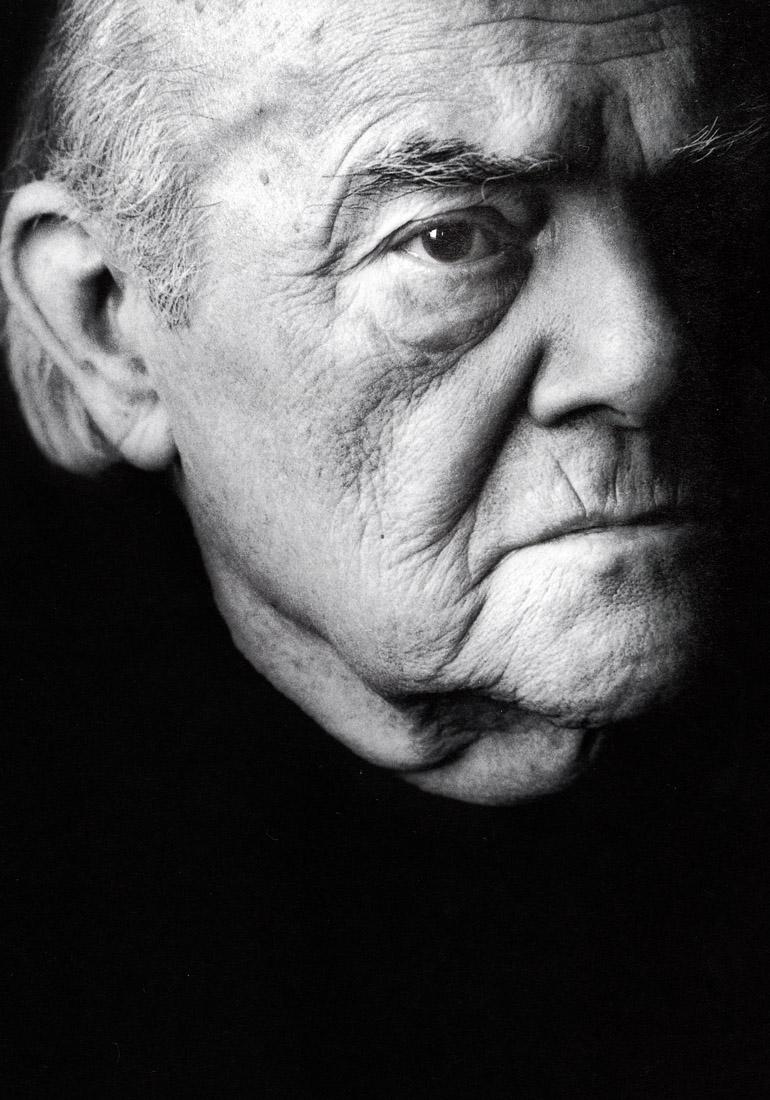 Helmut Salden (1910- 1996), foto  Arenda Oomen, 1994.