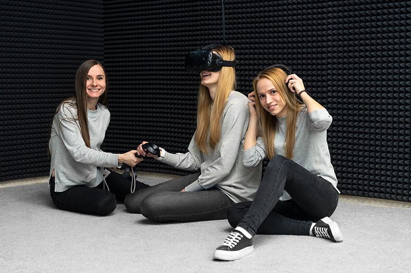 Администраторы клуба виртуальной реальности