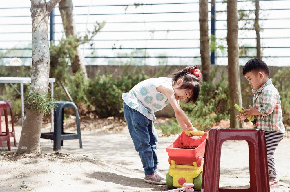 Taiwanese children playing. Photo credit Aikawa Ke