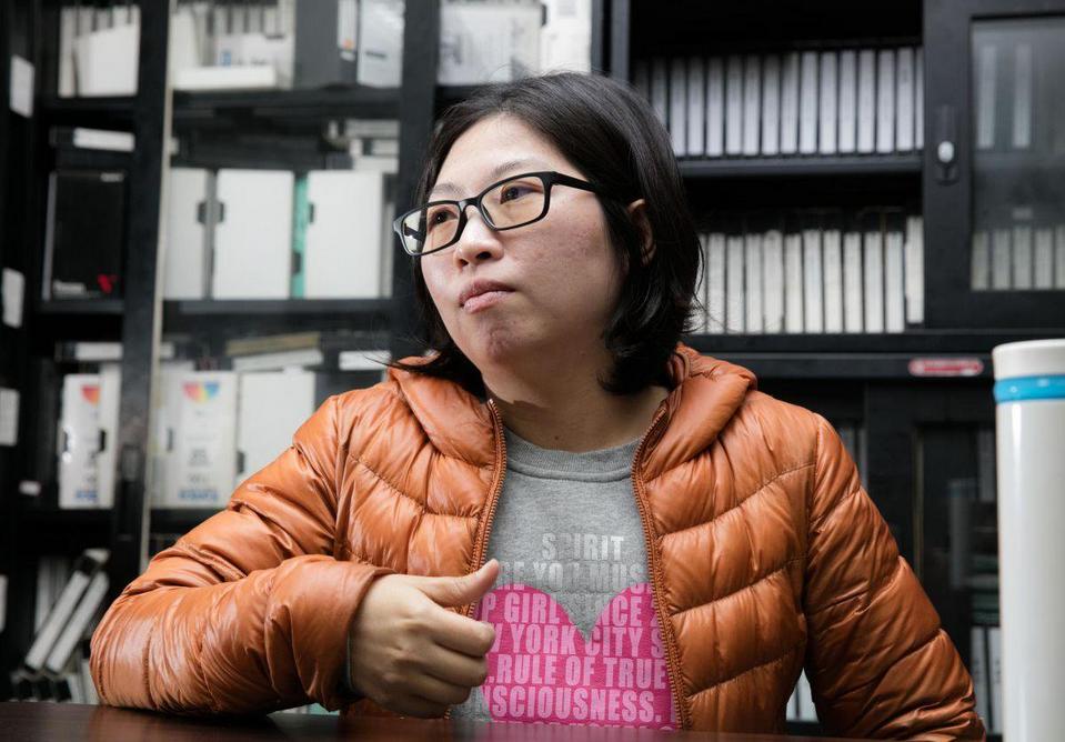Director Huang Hui-chen. Photo by  Jameson Wu.