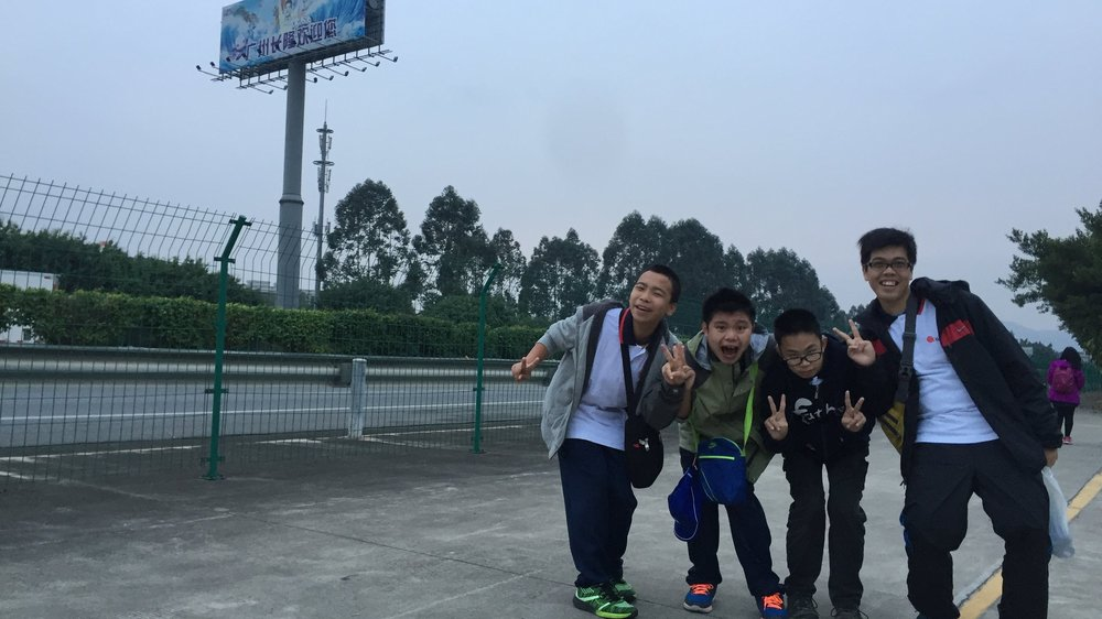 Students from Kinmen Island on a field trip to Guangzhou, China. Image courtesy of  Hong Chi Association .