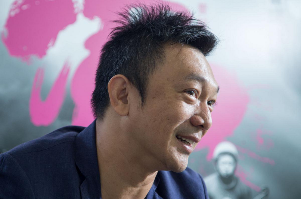"""Huang Hsin-yao, director of """"The Great Buddha +."""" Photo by  Tsai Yao-cheng"""