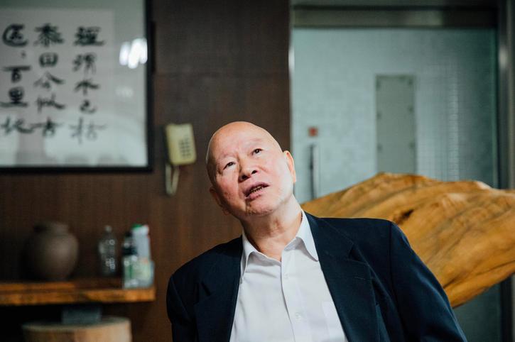 Hsu Hsin-liang in 2017 (photo: Yu Chi-wei 余志偉)