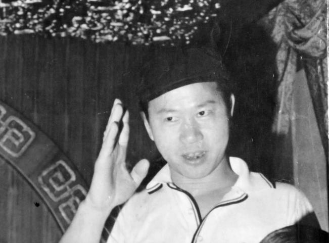 Hsu Hsin-liang in 1977 (photo: Chang Fu-chung 張富忠)