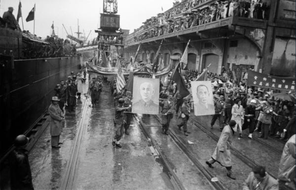 The anti-communist martyrs arrive in Taiwan, 1954. LIFE Magazine.
