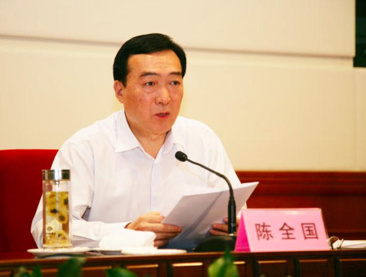 Current Xinjiang Uyghur Autonomous Region party secretary, Chen Quanguo. Photo: NetEase News.