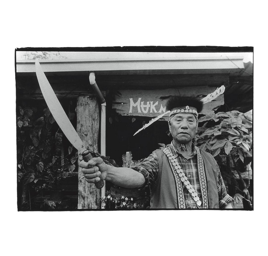 Sentenced to life and locked in prison for 23 years, Tibsungu' Muknana is the Mandela of the Tsou people. Photo courtesy of Pan Hsiao-hsia, from the book  Testimonies of 228  (見證228).