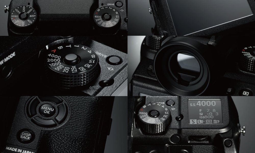Fuji GXF close Up Images