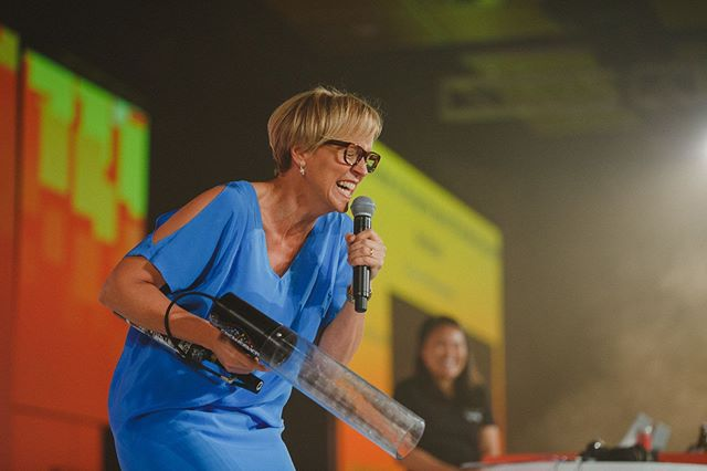 Everyone's favourite personality Hilary Barry at Microsoft Ignite 2016 @ms_ignite #aucklandevents #eventphotographer #aucklandphotographer #aucklandeventphotographer #eventphotography
