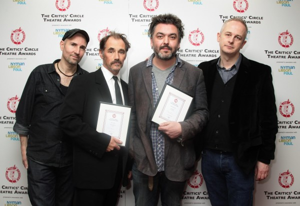 Ian Rickson, Mark Rylance, Jez Butterworth and Dominic Cooke; the team behind Jerusalem