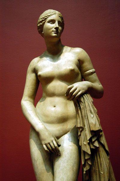 Praxiteles, Aphrodite of Knidos, 4th Century BCE