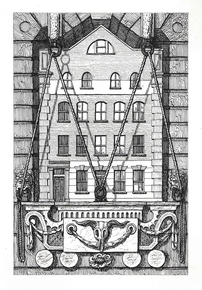 1 Haverstock Street by Pablo Bronstein