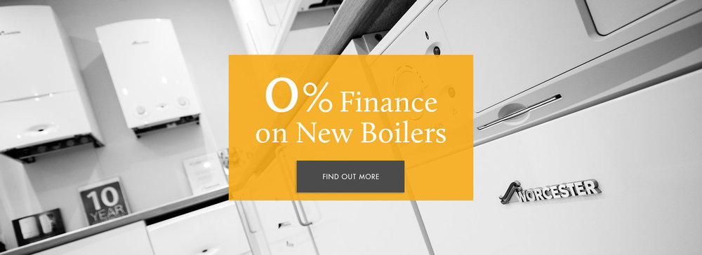 0% finance on all new boilers