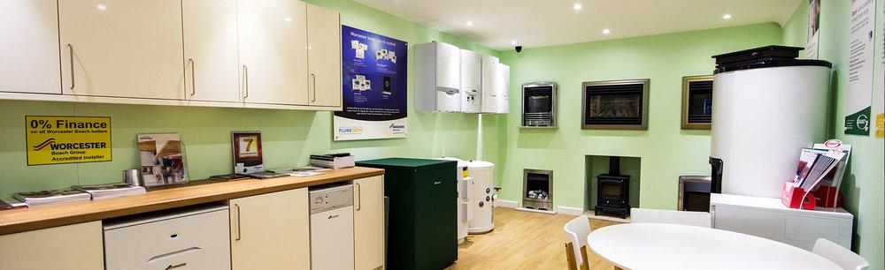 boiler showroom