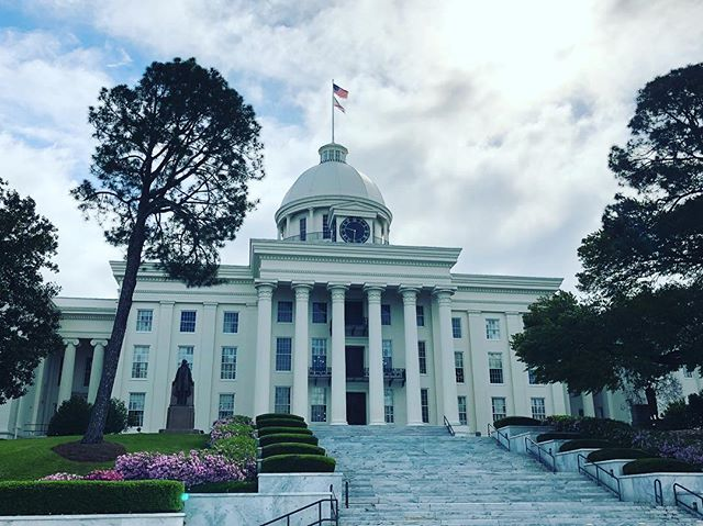 State Capitol of Alabama in Montgomery