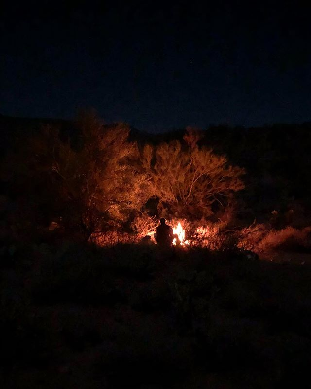Camping outside of Phoenix on night 2